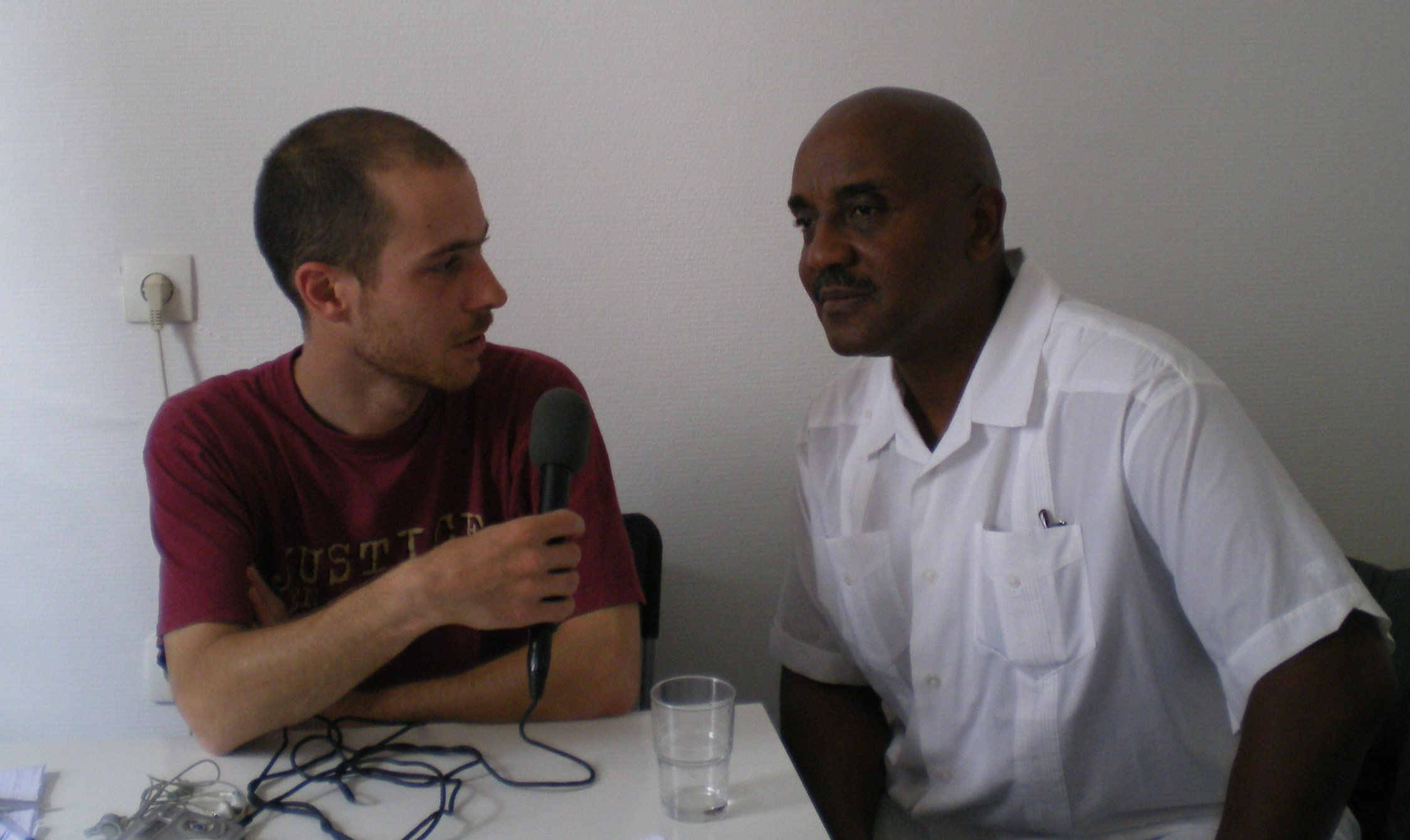 Thomas et Ahmad Rahman, Saint-Denis, juin 2007.
