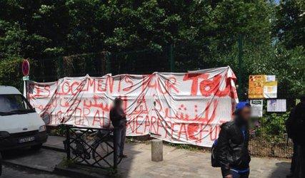 9 juin, au jardin associatif du Bois-Dormoy.